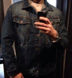 Джинсовая куртка новая xxl мужская