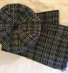 Комплект (берет + шарф)