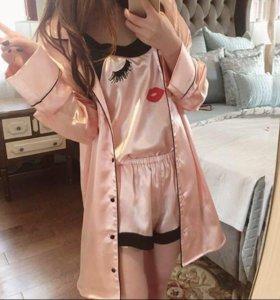 Пижама шёлковая 👑🎀