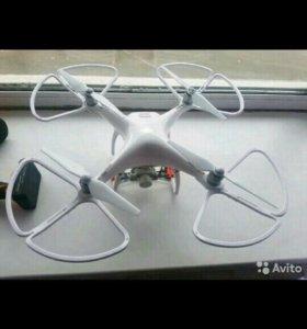 Квадрокоптер dji phantom 4k