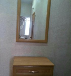 Продам зеркало с ящиком