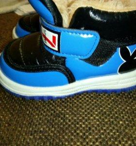 Детские ботинки плейбойчики