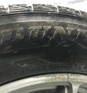 Продам резину без дисков Dunlop. 215/60/16 Зима