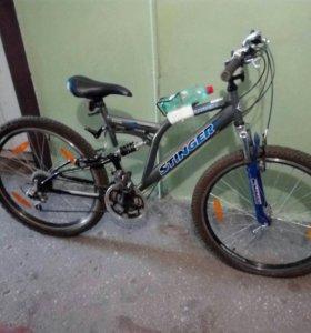 Велосипед горный двухподвес