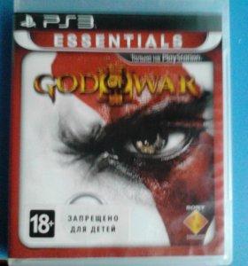 Диск God of war III для ps3