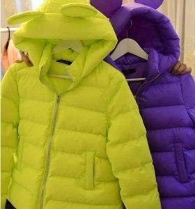 куртка с микки маусом