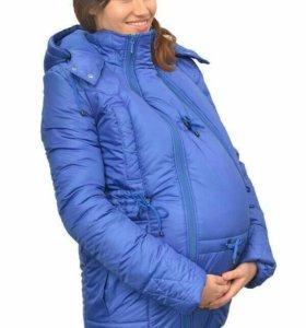 """Для беременных  вставка в куртку """"Гусленок"""""""