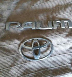 Эмблема на 5-ю дверь RAUM 10-кузов