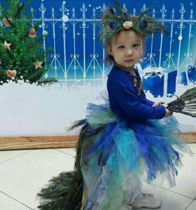 Новогодний костюм павлина