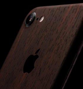 Виниловая чехол-наклейка на iPhone 7