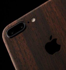 Виниловая чехол-наклейка на iPhone 7 Plus