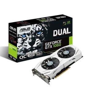 Видеокарта ASUS GeForce GTX 1060 DUAL OC 3gb