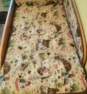 Детская кровать-софа