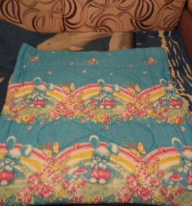 Ватное одеялко детское