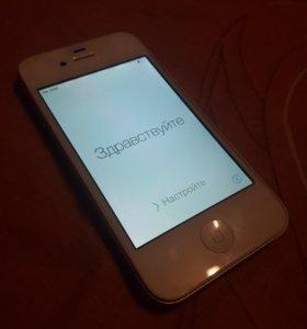 Apple Iphone 4s White 16 Gb