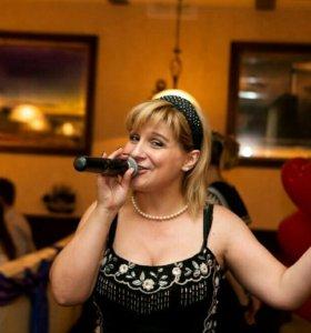 Ведущая-поющая Наталия Courage