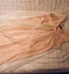 Платье из органзы