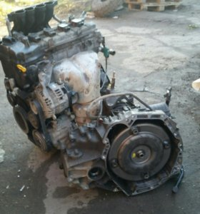 Двигатель CR12 ниссан марч 2002