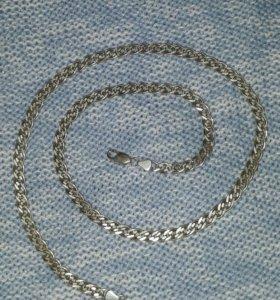 Мужская серебряная цепь