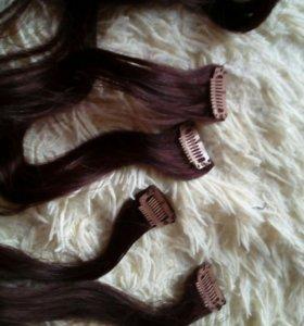 Натуральные волосы!