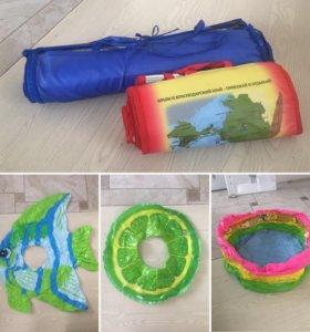 Детский надувной круг