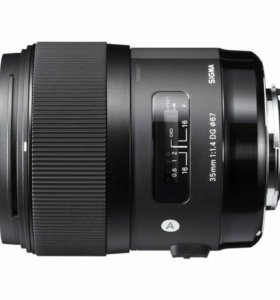 Объектив Sigma AF 35mm F/1.4 DG HSM Canon