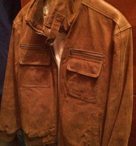Куртка кожаная мужская (бренд)