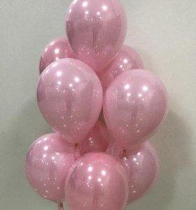 Супер-блестящие гелиевые воздушные шарики