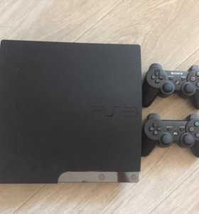 Sony PlayStation 3 Slim 500 gb ПРОШИТАЯ!!!