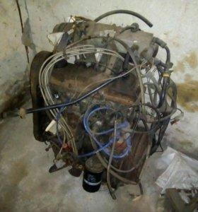 Двигатель 1.8 Volkswagen + мозги + бензанасос