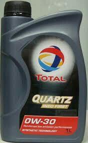 Моторное маслоTotal Quartz Ineo First 0w-30 1 литр