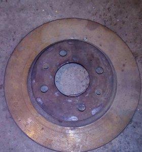 Тормозной диск с охлаждением