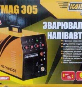 Сварочный полуавтомат Kaiser MIG-305 (MIG+MMA)