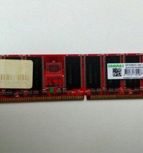 Оперативная память DDR-400 256MB