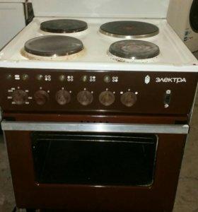Электрическая плита б/у Электра