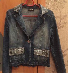 Джинсовый пиджак DG