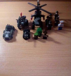 Лего военные.