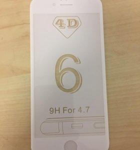 Продам защитное стекло на Iphone 6