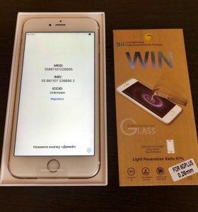 iPhone 6s Plus 16Gb Gold новый абсолютно га