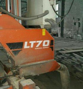 Пилорама ленточная Wood Mizer LT70