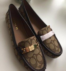 Новые туфли фирмы COACH р 38