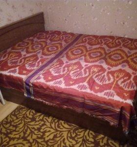 Двуспальная кровать. (Шатура-мебель, 2005г.)