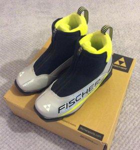 Ботинки для беговых лыж FISCHER XJ SPRINT SILVER