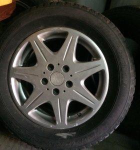 Обменяю 16 колёса маркообразные