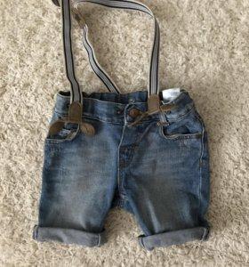 Шорты джинсовые h & m