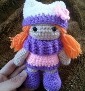 Куколка Ника вязаная