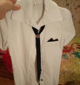 Блузка на девочку 7-8 лет