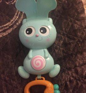 Зайчик/заяц музыкальная игрушка