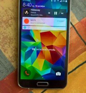 Samsung Galaxy S5 SM-G900F 16Gb Black 4g lte
