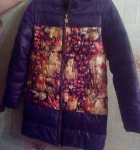 Куртка зима размер 44-46 цена 1000 рублей